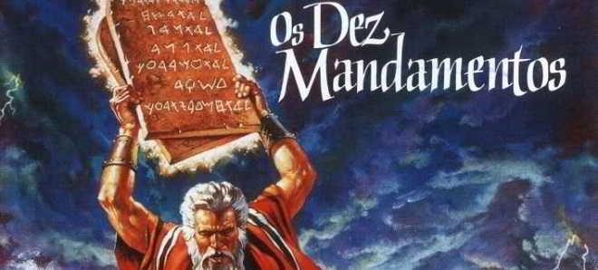 Paramount vai desenvolver uma nova versão de 'Os Dez Mandamentos'