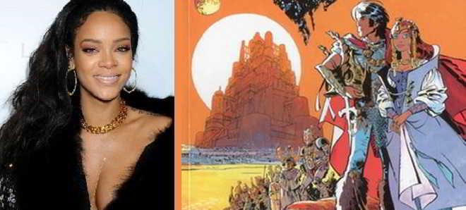 Rihanna confirmada no elenco de 'Valerian', filme de Luc Besson