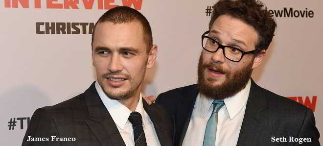 Seth Rogen poderá integrar o elenco do novo filme de James Franco, 'The Disaster Artist'