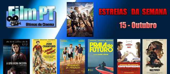 Estreias de Filmes da Semana: 15 de Outubro de 2015