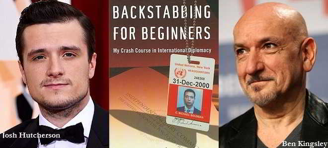 Josh Hutcherson e Ben Kingsley no thriller político 'Backstabbing For Beginners'