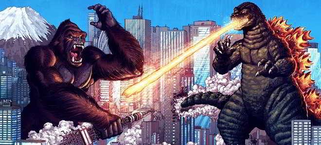 'Godzilla vs. King Kong' estreia oficial marcada para 2020