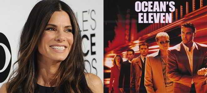 Sandra Bullock poderá encabeçar elenco de uma versão feminina de 'Ocean's Eleven'