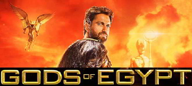 Revelados os primeiros poster da aventura mitológica 'Gods of Egypt'