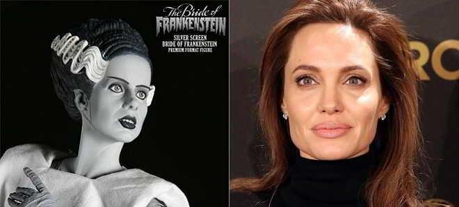 Angelina Jolie poderá protagonizar o remake de 'A Noiva de Frankenstein'