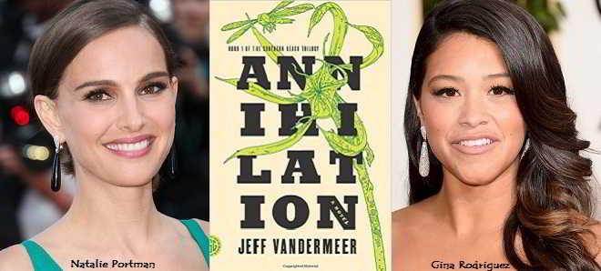 'Annihilation': Natalie Portman confirmada e Gina Rodriguez em negociações