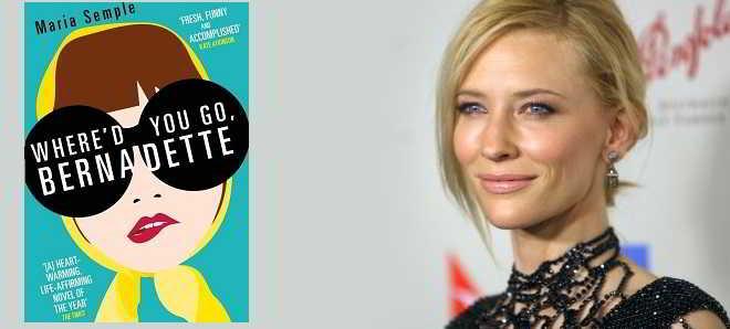 Cate Blanchett em negociações para estrelar 'Where'd You Go, Bernadette'