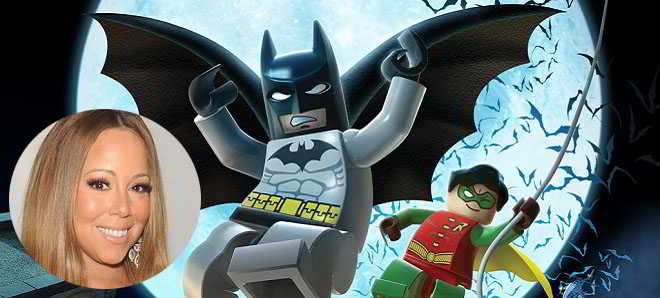 Mariah Carey confirmada no elenco de 'The Lego Batman Movie'