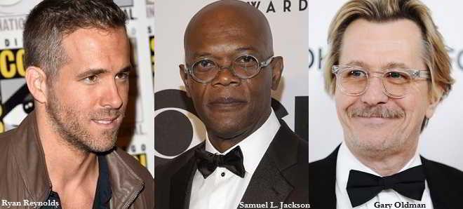 Ryan Reynolds, Samuel L. Jackson e Gary Oldman em 'Hitman's Bodyguard'