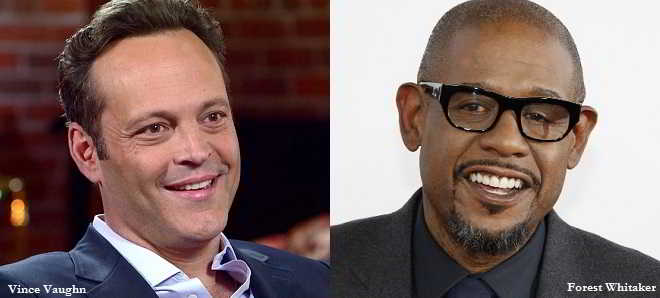Vince Vaughn e Forest Whitaker juntos em 'The Archbishop and the Antichrist'