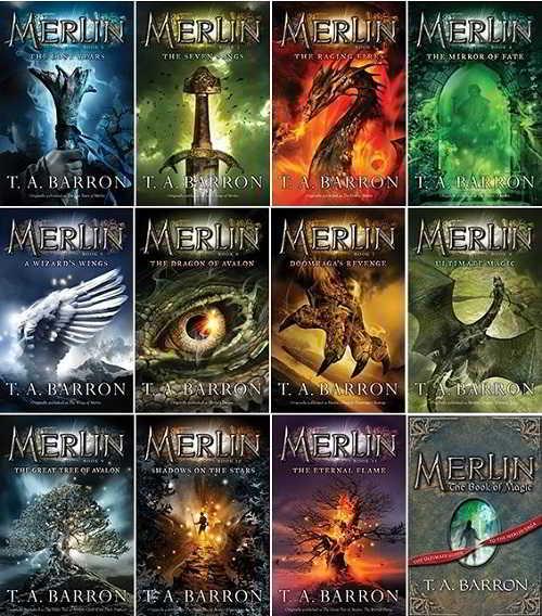 capas a saga merlin
