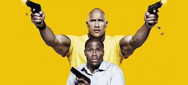 Trailer e poster de 'Central Intelligence', com Dwayne Johnson e Kevin Hart