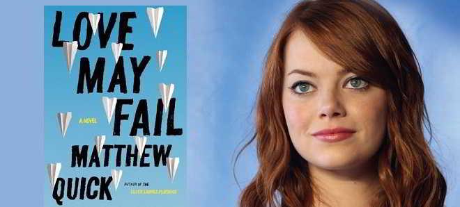 Emma Stone vai ser a protagonista da adaptação de 'Love May Fail'