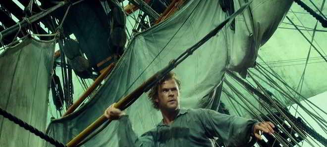 Assista ao novo trailer em português do drama 'No Coração do Mar'