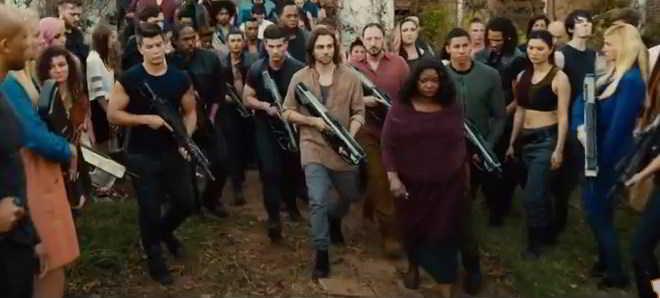 Divulgado o novo trailer e mais um poster oficial de 'Convergente: Parte 1'