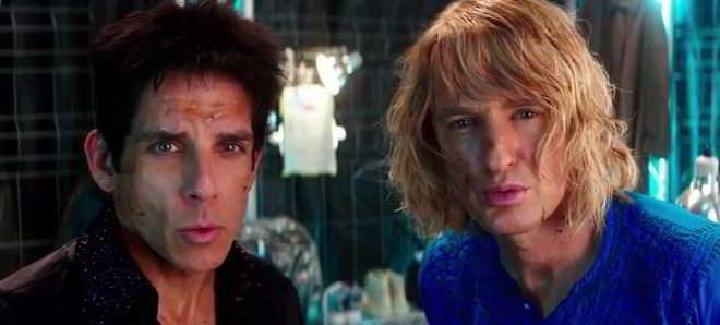 Primeiro trailer oficial de 'Zoolander 2', com Ben Stiller e Owen Wilson