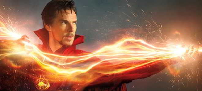 Primeiras imagens de Benedict Cumberbatch como 'Doctor Strange'