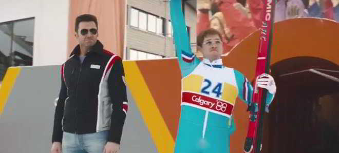 Taron Egerton no primeiro trailer e poster de 'Eddie The Eagle'