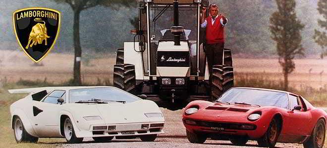 Em desenvolvimento uma cinebiografia sobre o fundador da Lamborghini