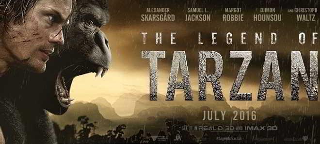 Trailer legendado em português de 'A Lenda de Tarzan'