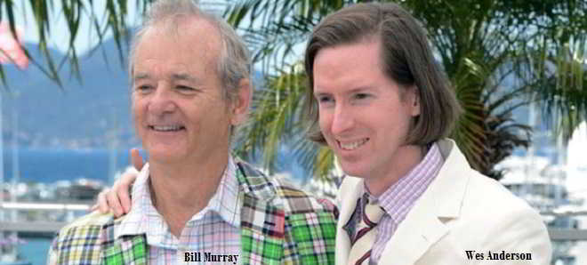 Bill Murray adicionado ao elenco do novo filme de Wes Anderson