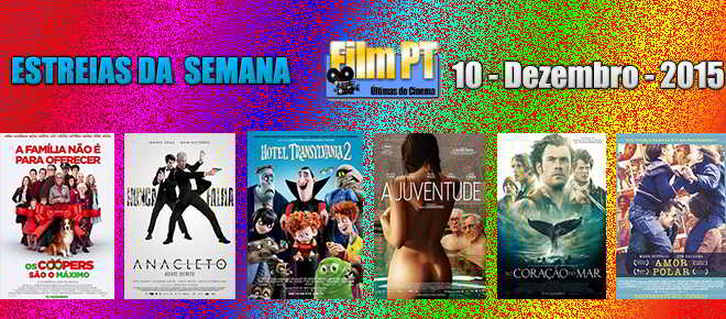 Estreia de Filmes da Semana: 10 de dezembro de 2015