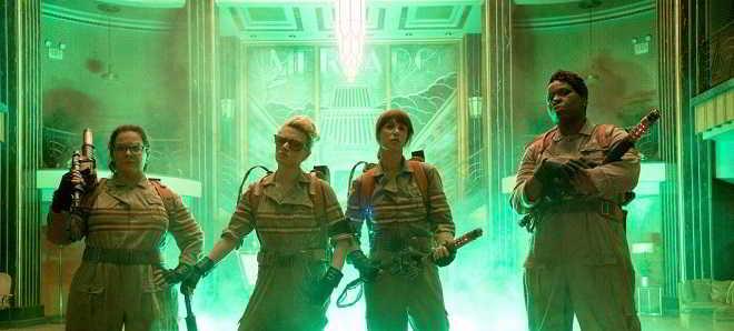 Divulgada uma imagem oficial da novas 'Caça-Fantasmas'