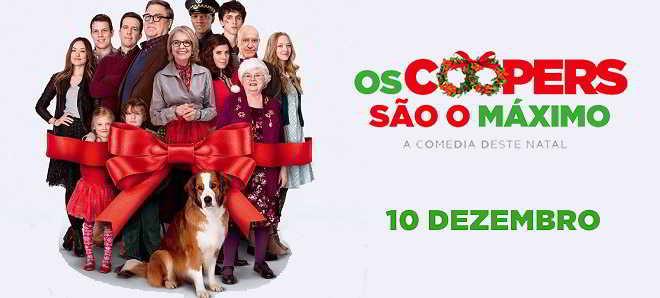 Poster e trailer português da comédia natalícia 'Os Coopers São o Máximo'