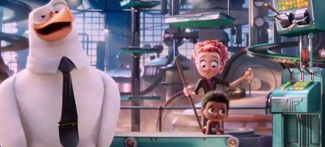 Revelado o primeiro teaser trailer da animação 'Storks'