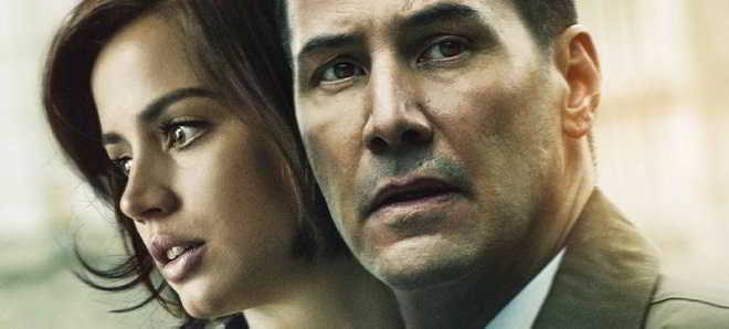 Trailer e poster de 'Exposed', com Keanu Reeves e Ana de Armas