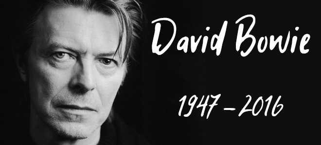 Morreu o cantor, compositor, ator e produtor David Bowie