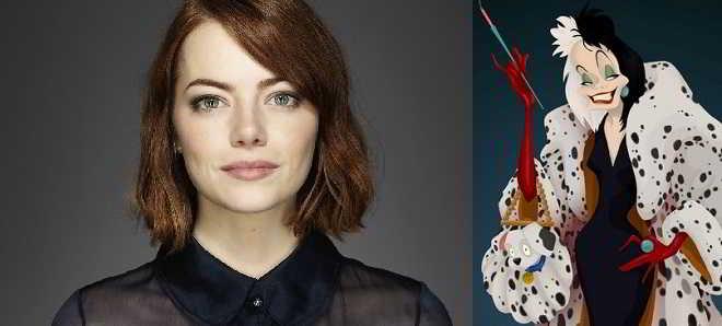 Emma Stone em negociações com a Disney  para protagonizar Cruella de Vil