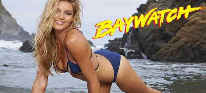 Modelo Kelly Rohrbach vai ser a nova Pamela Anderson em 'Baywatch'