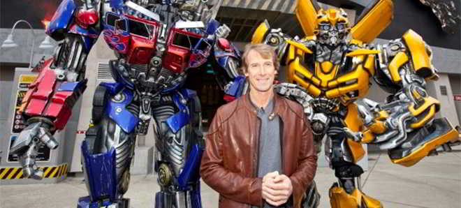 Michael Bay confirmado para realizar mais um filme da franquia Transformers