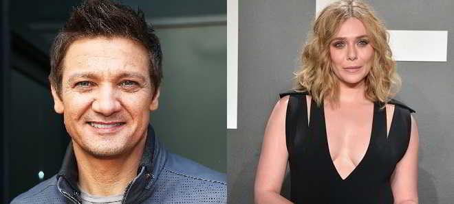 Jeremy Renner e Elizabeth Olsen vão protagonizar 'Wind River'