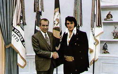 encontro Elvis Presley e Nixon