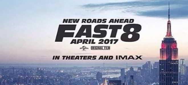Vin Diesel revelou o primeiro poster de 'Velocidade Furiosa 8'
