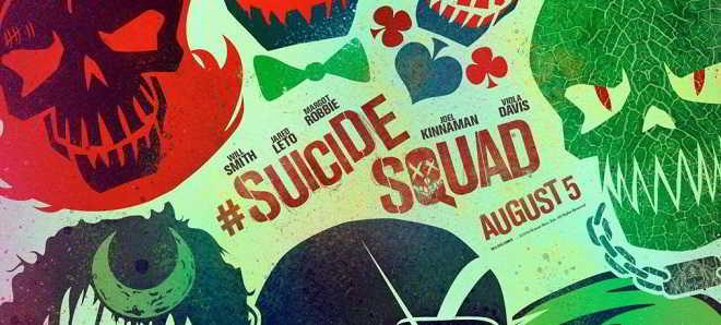 'Esquadrão Suicida': Divulgada uma série de posters oficiais