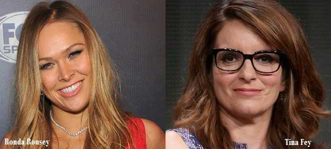 Tina Fey e Ronda Rousey vão ser as protagonistas de 'Do Nothing Bitches'