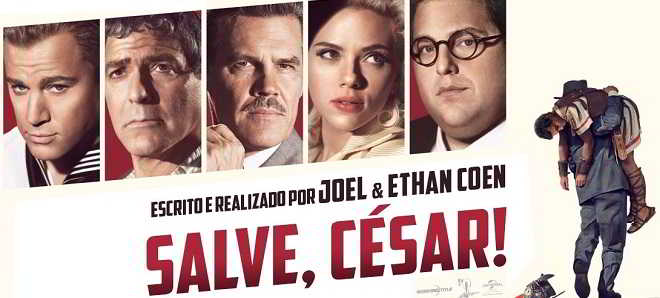 salve cesar posters personagens