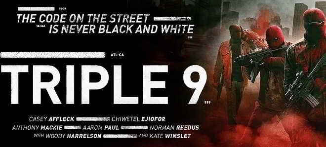 Trailer em português e posters individuais dos protagonistas de 'Triplo 9'