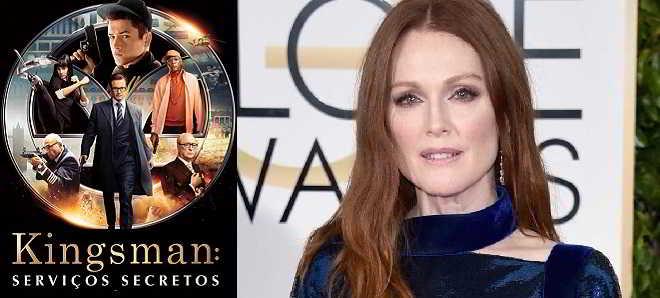 Julianne Moore poderá ser a vilã de 'Kingsman: Serviços Secretos 2'