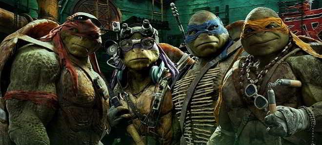 Posters de personagens de 'Tartarugas Ninja Heróis Mutantes - O Romper das Sombras'