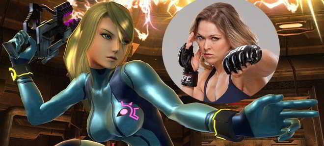 Ronda Rousey sonha em interpretar Samus Aran, a heroina de Metroid