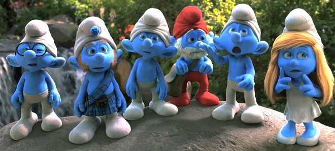 Veja as primeiras imagens da animação 'Smurfs: The Lost Village'