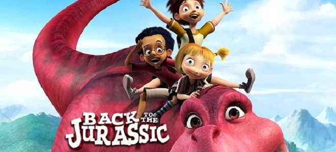 Trailer legendado em português da animação 'Uma Aventura no Jurássico'