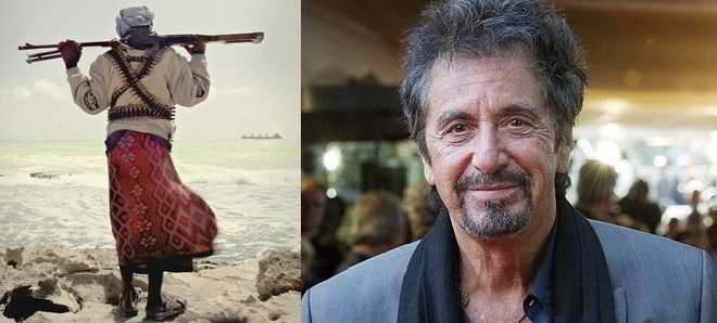 Al Pacino no drama sobre os piratas somalis 'Where the White Man Runs Away'