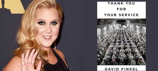 Amy Schumer confirmada no elenco do drama 'Thank You For Your Service'