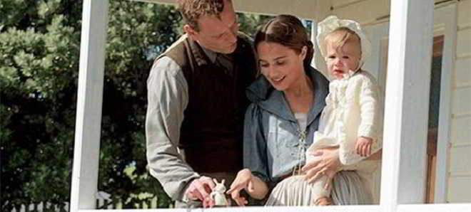 Revelado o primeiro trailer do drama 'The Light Between Oceans'