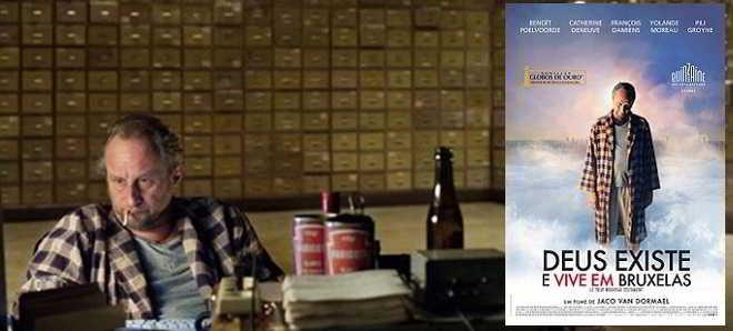 'Deus Existe e Vive em Bruxelas': Poster e trailer legendado em português